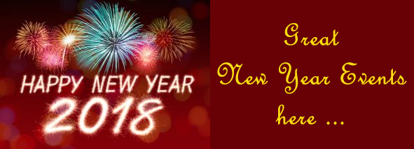 Great New Year Events here …